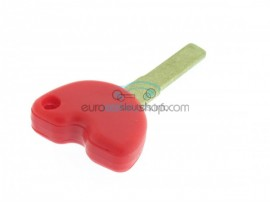 Piaggio motorbike key - Red - Key blade SIP22 - after market product